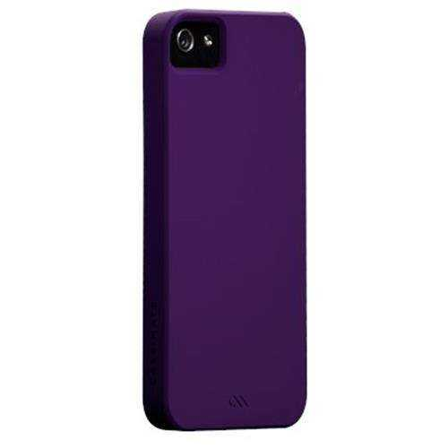 Apple iPhone SE - 5S - 5 Barely There Case von Case-Matte - violett