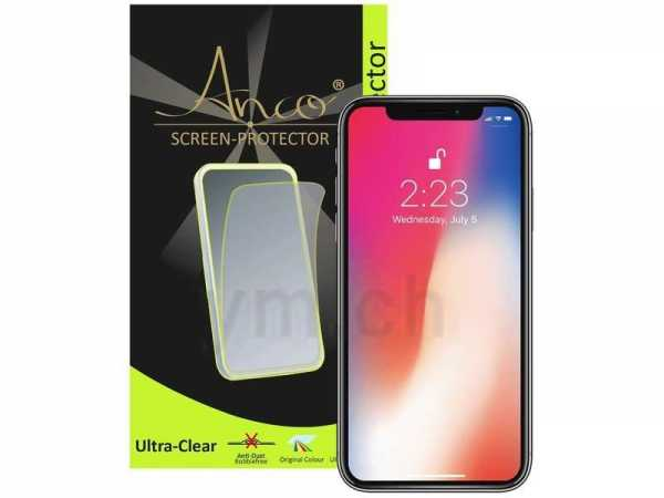 Anco - Displayschutzfolie - ultra-clear - Apple iPhone X