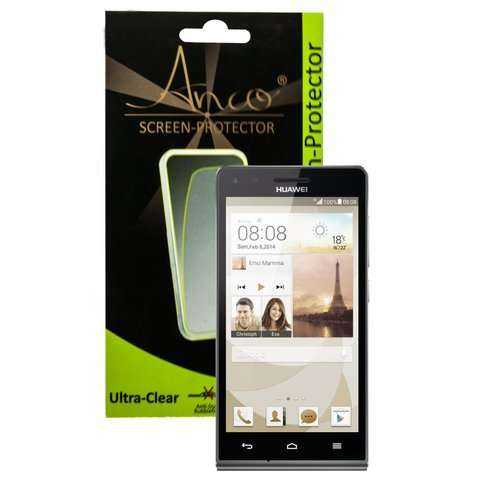 Anco Displayschutzfolie - ultra-clear - Huawei Ascend G6 Folie - yourmobile.ch - 20242
