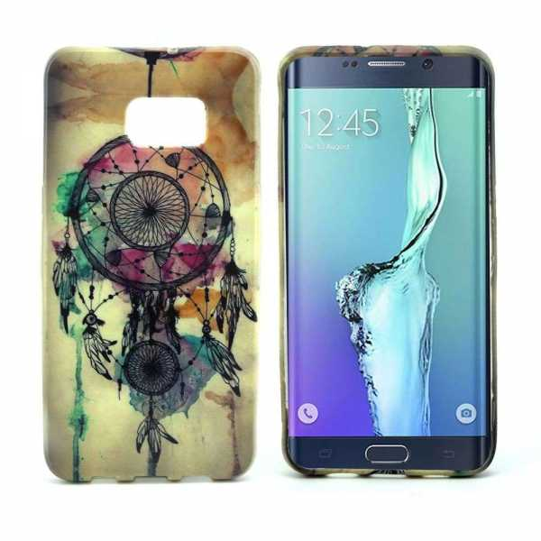 Samsung Galaxy S6 Edge+ Hülle - SoftCase - Traumfänger - yourmobile.ch 1