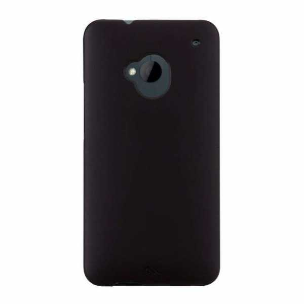 HTC One Barely There case von case-mate - schwarz
