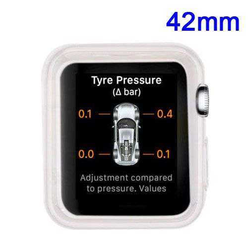 Apple Watch 42mm Hülle - SoftCase - TPU - transparent - yourmobile.ch 1