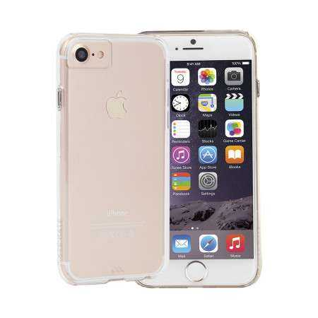 Apple iPhone 7 / 6S / 6 Hülle - case-mate - Barely There Case - transparent - yourmobile.ch