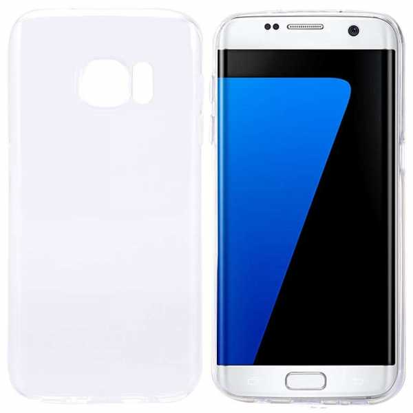 Samsung Galaxy S7 Edge Hülle - TPU Cover - FeatherLine - transparent - yourmobile.ch