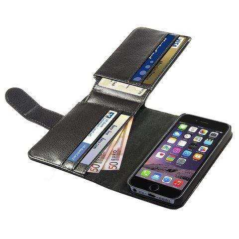 Anco - Premium BookCase - Traveller - Apple iPhone 6 Case - schwarz - yourmobile.ch - 22553