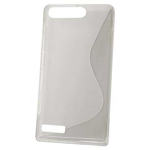 Rubber Case Wave - Huawei Ascend G6 Hülle - transparent - yourmobile.ch - 20604