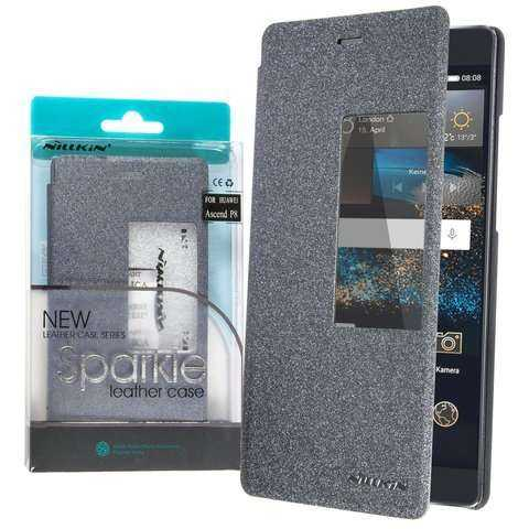 Huawei Ascend P8 Case - Nillkin - S-View Bookcover - schwarz - yourmobile.ch - 26071