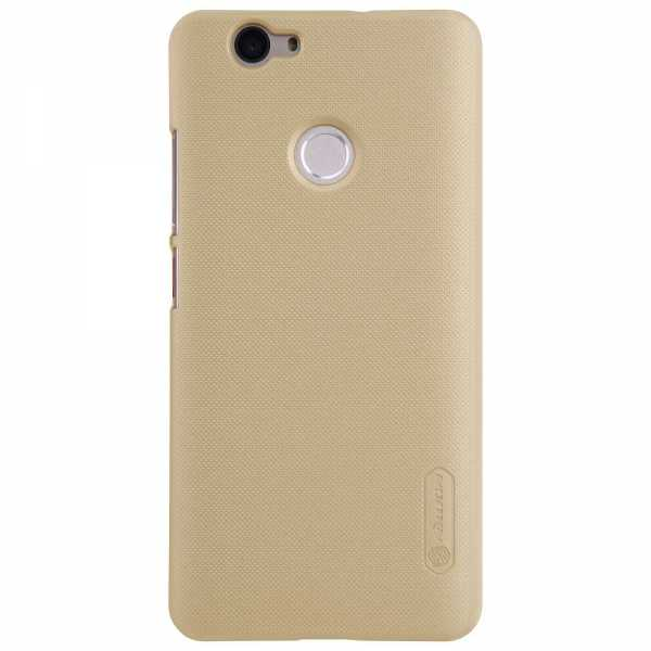 Huawei Nova Hülle - Nillkin - Frosted Shield Premium Cover - gold - yourmobile.ch 3