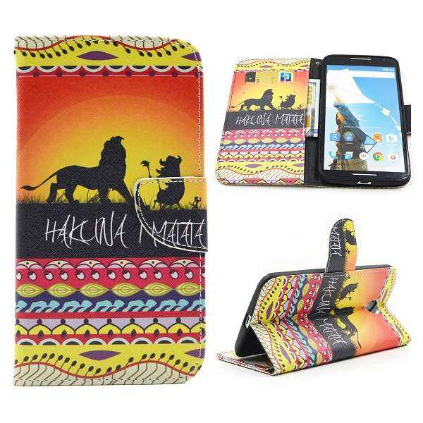 Motorola Google Nexus 6 Case - BookCase - Hakuna Matata - yourmobile.ch 1
