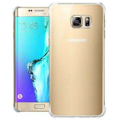 Samsung Galaxy S6 Edge+ Hülle - Samsung - Glossy Cover - gold - yourmobile.ch - 26969