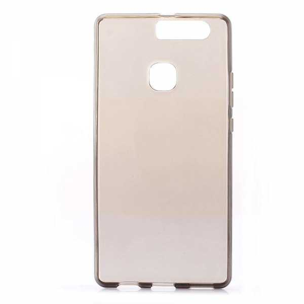 Huawei P9 Plus Hülle - TPU Cover - transparent-schwarz - yourmobile.ch