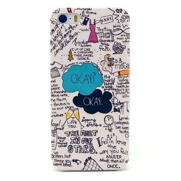 Apple iPhone 5 und 5S Hülle - Hard Cover - Graffiti - yourmobile.ch 1
