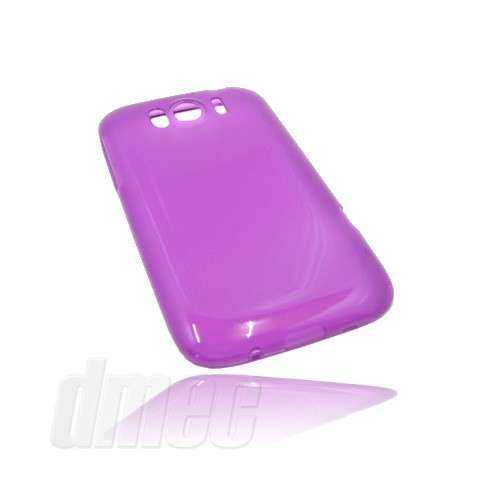 Design GEL Case für HTC Sensation XL, lila (Solange Vorrat)