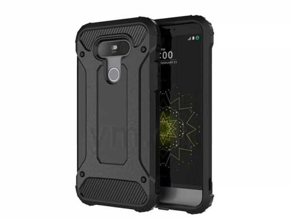 LG G5 Hülle - Defender Cover - Anco - schwarz - yourmobile.ch