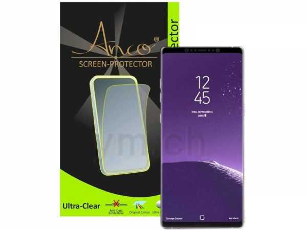 Anco Displayschutzfolie - ultra-clear - Samsung Galaxy Note 8 Folie