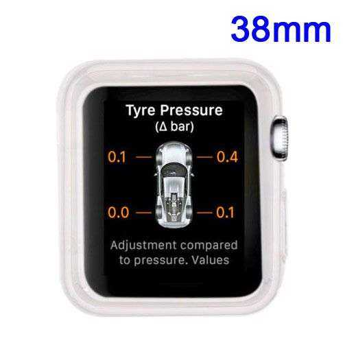 Apple Watch 38mm Hülle - SoftCase - TPU - transparent - yourmobile,ch 1