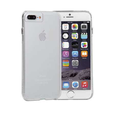 Apple iPhone 7 / 6S / 6 Plus Hülle - case-mate - Barely There Case - transparent - yourmobile.ch