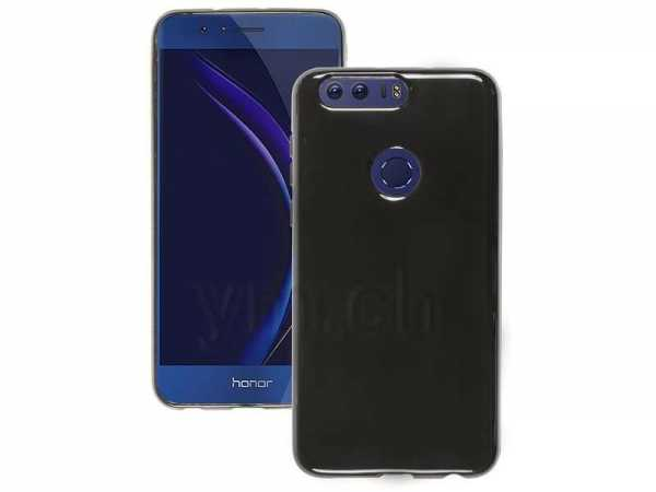 Huawei Honor 8 Hülle - Ultra Slim Case - TPU - schwarz - yourmobile.ch