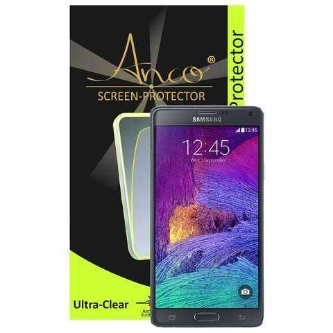 Anco - Displayschutzfolie - ultra-clear - Samsung Galaxy Note 4 Folie - yourmobile.ch - 22430