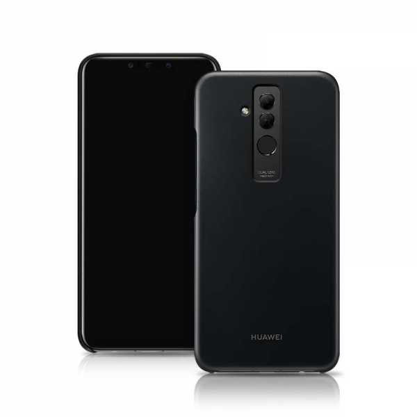Huawei Mate 20 Lite Hülle - Magic Case - Hard Case - schwarz