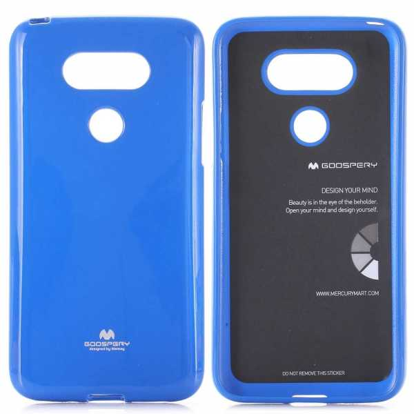 lg g5 h lle mercury goospery jelly cover blau. Black Bedroom Furniture Sets. Home Design Ideas