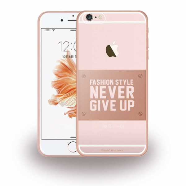 Apple iPhone 6 / 6S Hülle - Baseus - Fashion Style Collection - transparent-rosa - yourmobile.ch