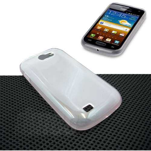 Design Gel Case für Samsung Galaxy W i8150, clear (Solange Vorrat)