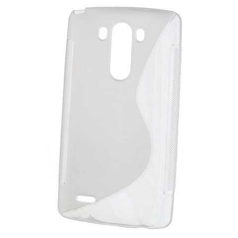 Rubber Case Wave - LG G3 - weiss - yourmobile.ch - 21147