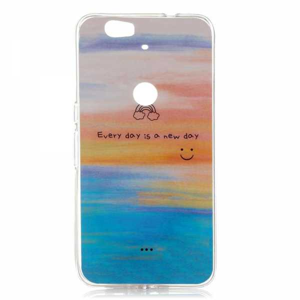 Huawei Nexus 6P Hülle - Soft Case - TPU - Sunset and Sea - yourmobile.ch