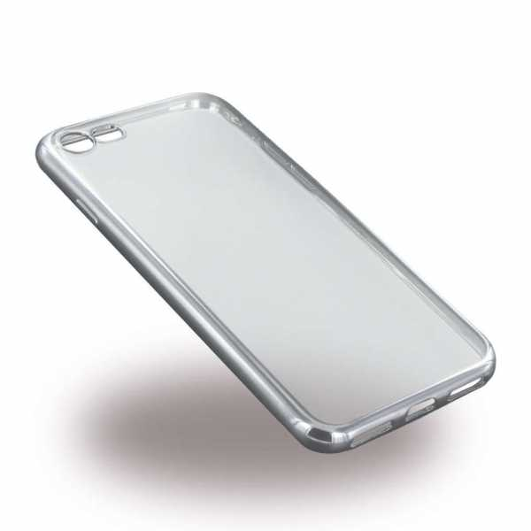 Apple iPhone 7 / 6S / 6  Hülle - UreParts - TPU Softcover - transparent-silber - yourmobile.ch