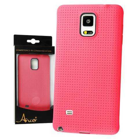 Samsung Galaxy Note 4 Hülle - Anco - Neo TPU Soft Case - pink - yourmobile.ch - 23132