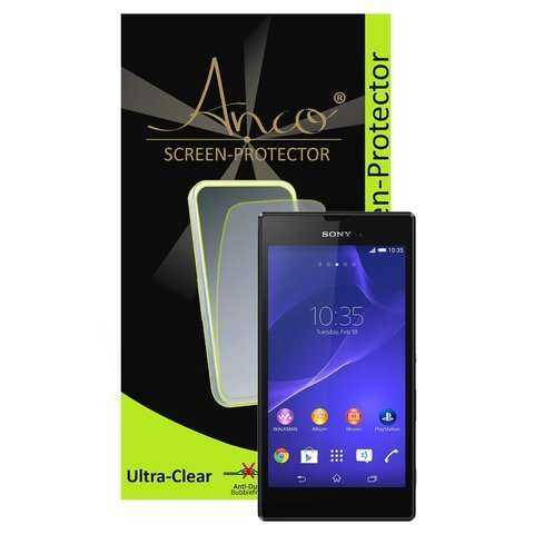 Anco - Displayschutzfolie - ultra-clear - Sony Xperia T3 Folie - yourmobile.ch - 21344