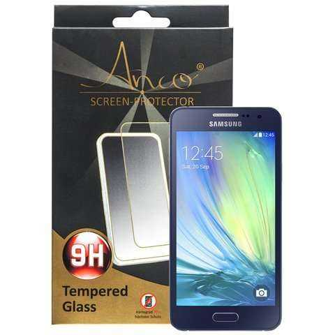 Samsung Galaxy A3 Schutzfolie - Tempered Glass - Displayschutzfolie - Härtegrad 9H - yourmobile.ch - 24566
