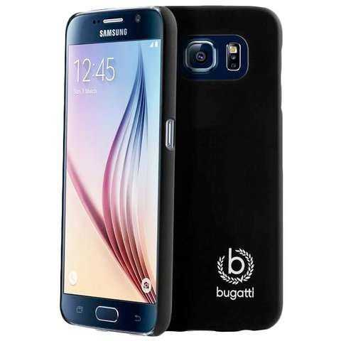Samsung Galaxy S6 Hülle - bugatti - Clip-On Cover - schwarz - yourmobile.ch - 25367