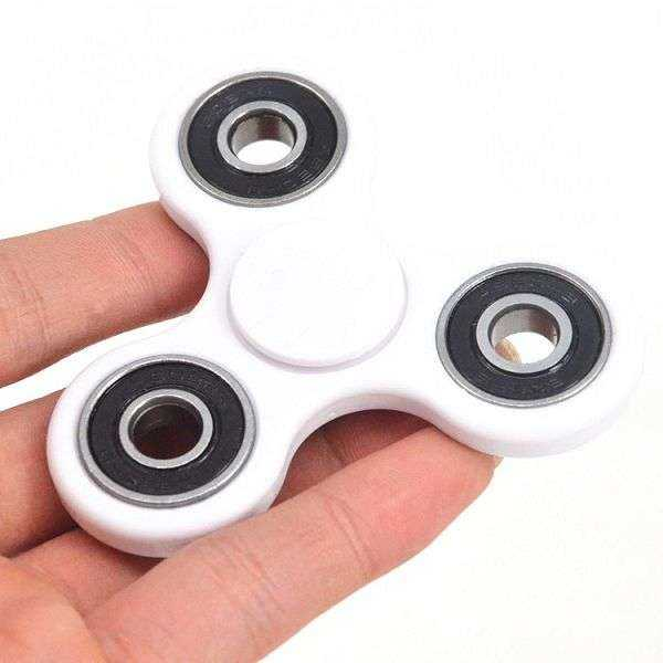 Fidget Spinner - ABS - weiss - yourmobile.ch 1