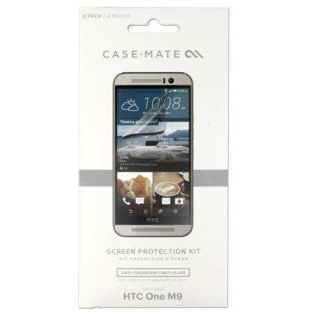 HTC One M9 Schutzfolie - Case-Mate - Anti-Fingerprint - yourmobile.ch 1