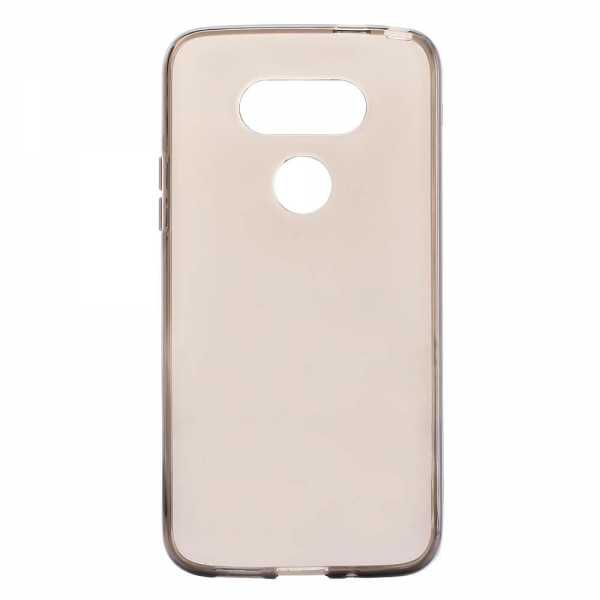 LG G5 Hülle - TPU Cover - transparent-schwarz - yourmobile.ch