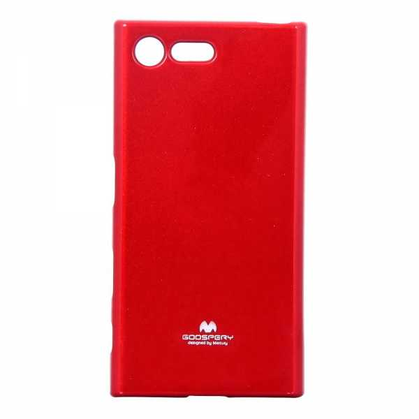 Sony Xperia X Compact Hülle - Mercury - Goospery Jelly Cover - rot - yourmobile.ch 2