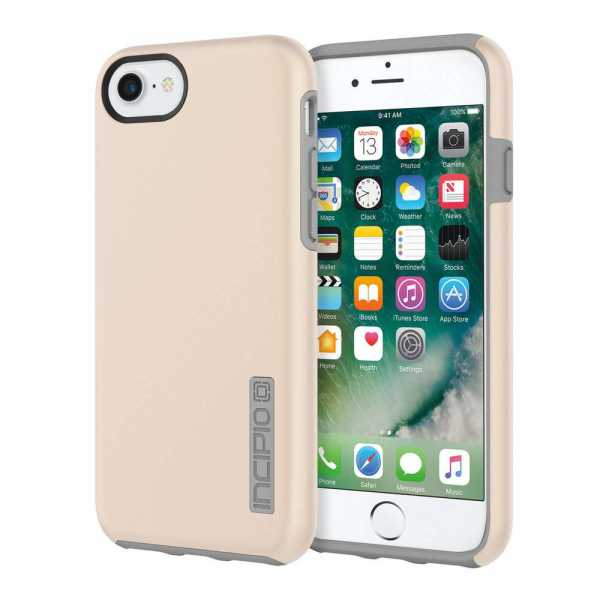 Apple iPhone 7 / 6S / 6 Hülle - DualPro Case - Incipio - gold - yourmobile.ch