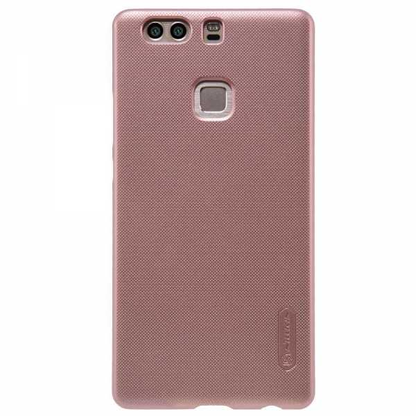 Huawei P9 Plus Hülle - Nillkin - Frosted Shield Premium Cover - rosé - yourmobile.ch