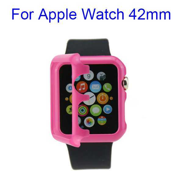 Apple Watch 42mm Hülle - HardCase - pink - yourmobile.ch 1