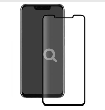 Huawei Mate 20 Pro - 3D Glass Case-Friendly - schwarz - Härtegrad 9H