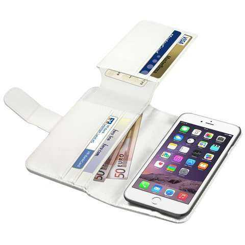 Anco - Premium BookCase - Traveller - Apple iPhone 6 Case - weiss - yourmobile.ch - 22554