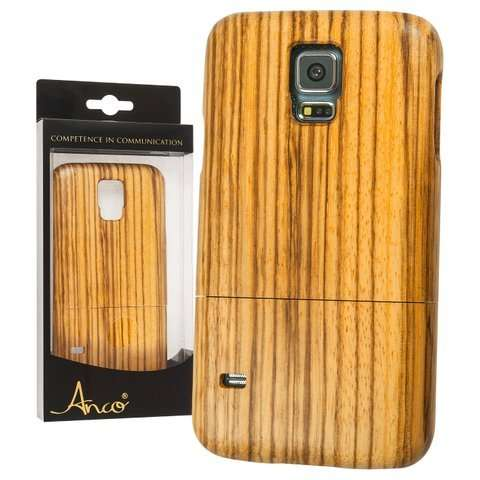 samsung galaxy s5 bambus h lle anco echtholz cover. Black Bedroom Furniture Sets. Home Design Ideas