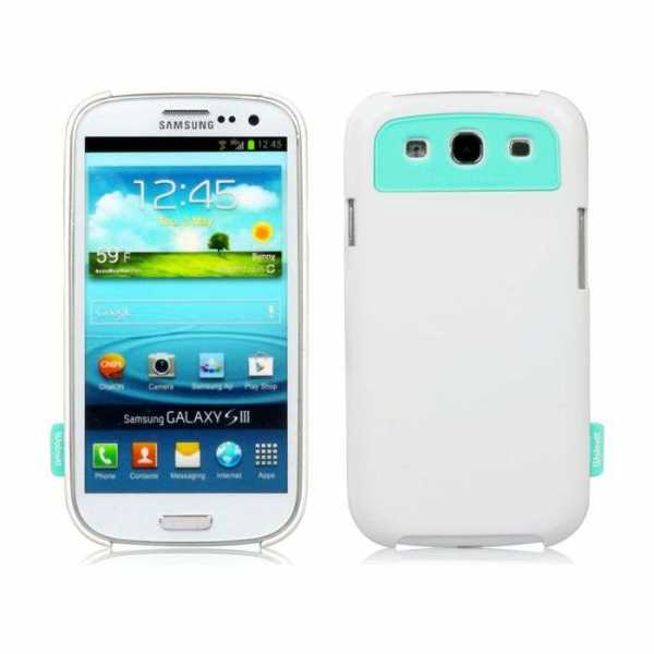 Walnutt by Zenus Milk Bar Cover Optic White Galaxy S3 i9300 WCS3MBOH