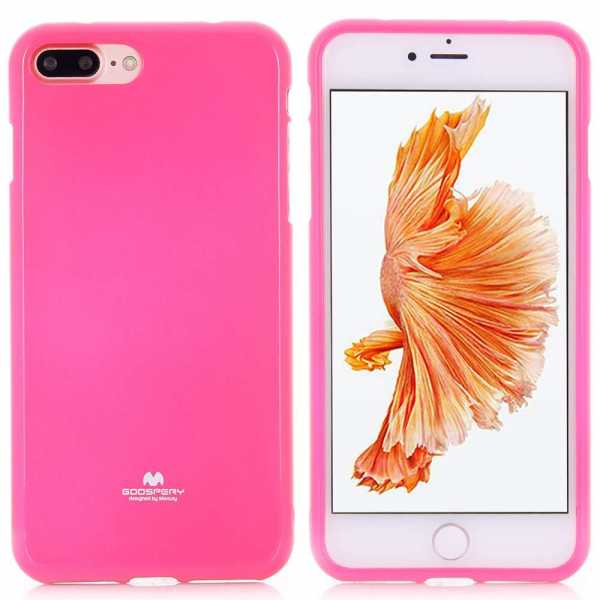 Apple iPhone 7 Plus Hülle - Mercury - Goospery Jelly Cover - pink - yourmobile.ch