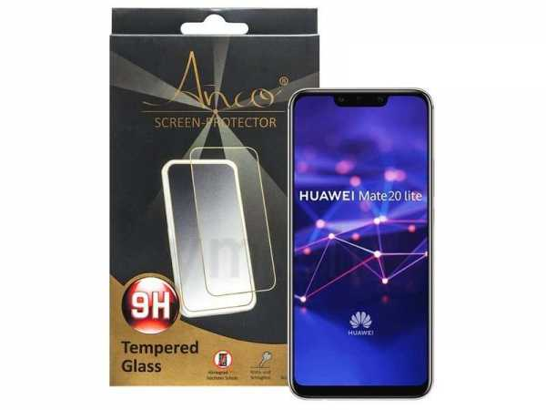 Huawei Mate 20 Lite Glass - Tempered Glass Screen Protector - Härtegrad 9H - schwarz
