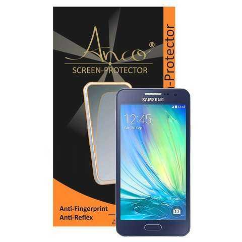 Samsung Galaxy A3 Schutzfolie - Anco - Anti-Fingerprint Displayschutz - yourmobile.ch - 23983