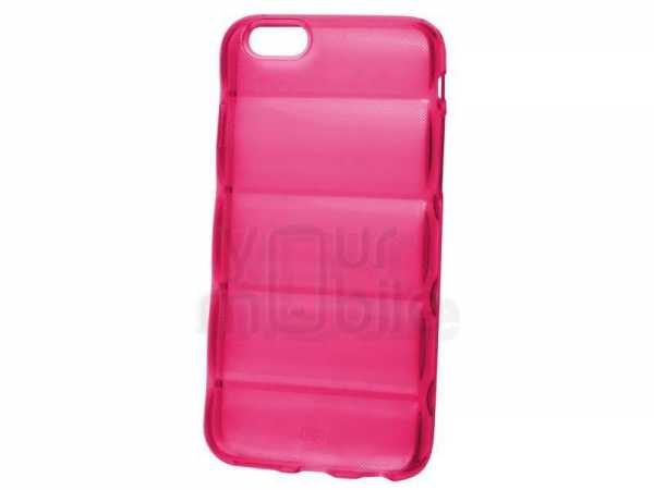 Silikon Case Barell - Apple iPhone 6 Hülle - transparent pink - yourmobile.ch