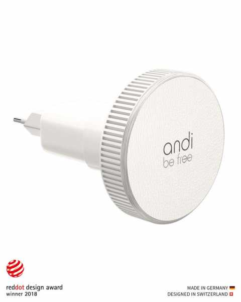 Andi be free - Wireless Travel Charger - 1.0 A - weiss